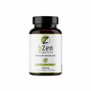 BZen Organics Softgels with Curcumin
