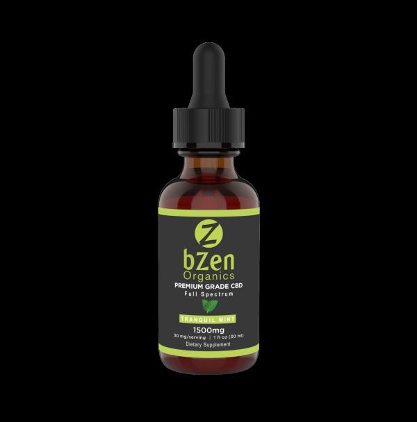 bzen organics CBD full spectrum